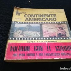 Cine: CONTINENTE AMERICANO SUPER 8. Lote 194513326