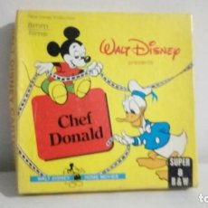 Cine: PELICULA CHEF DONALD 8MM.. Lote 194536100