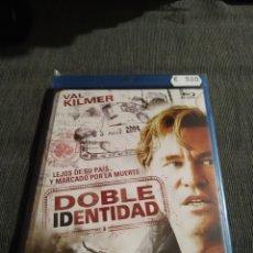 Cine: DOBLE IDENTIDAD (VAL KILMER) ES NUEVO Y PRECINTADO. Lote 194665526