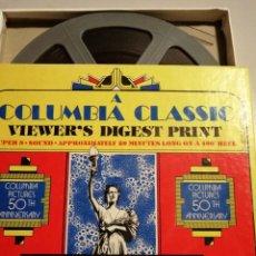 Cine: PLATINUM BLONDE. RESUMEN BOBINA 120 MTS, BYN. SONIDO EN INGLES (V.O.). CAJA ORIGINAL. Lote 194706561