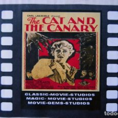 Cine: THE CAT AND THE CANARY, TERROR GÓTICO, 1927. EN SUPER 8.. Lote 194707887