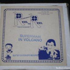 Cine: SUPER 8 ++ SUPERMAN. VOLCANO ++ 60 METROS V.O. DE DAVE FLEISCHER. Lote 194746202