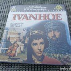 Cine: PELICULA IVANHOE - SUPER 8 --- 120M. COLOR SONORA EN ESPAÑOL. ESTUCHE ORIGINAL - ELISABETH TAYLOR . Lote 194869235