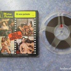Cine: EL SEXO PARLANTE - CORTOMETRAJE – PARA ADULTOS SUPER 8 MM-RETRO VINTAGE FILM. Lote 194979013