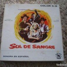 Cine: WESTERN. SOL DE SANGRE. CHARLES BRONSON, ALAN DELON, URSULA ANDRESS. MUY BUENA CONSERVACION. Lote 195160607