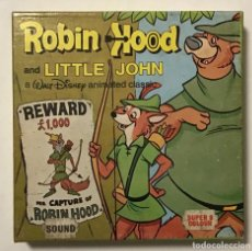 Cine: ROBIN HOOD AND LITTLE JOHN. WALT DISNEY ANIMATED CLASSIC. Lote 195320170