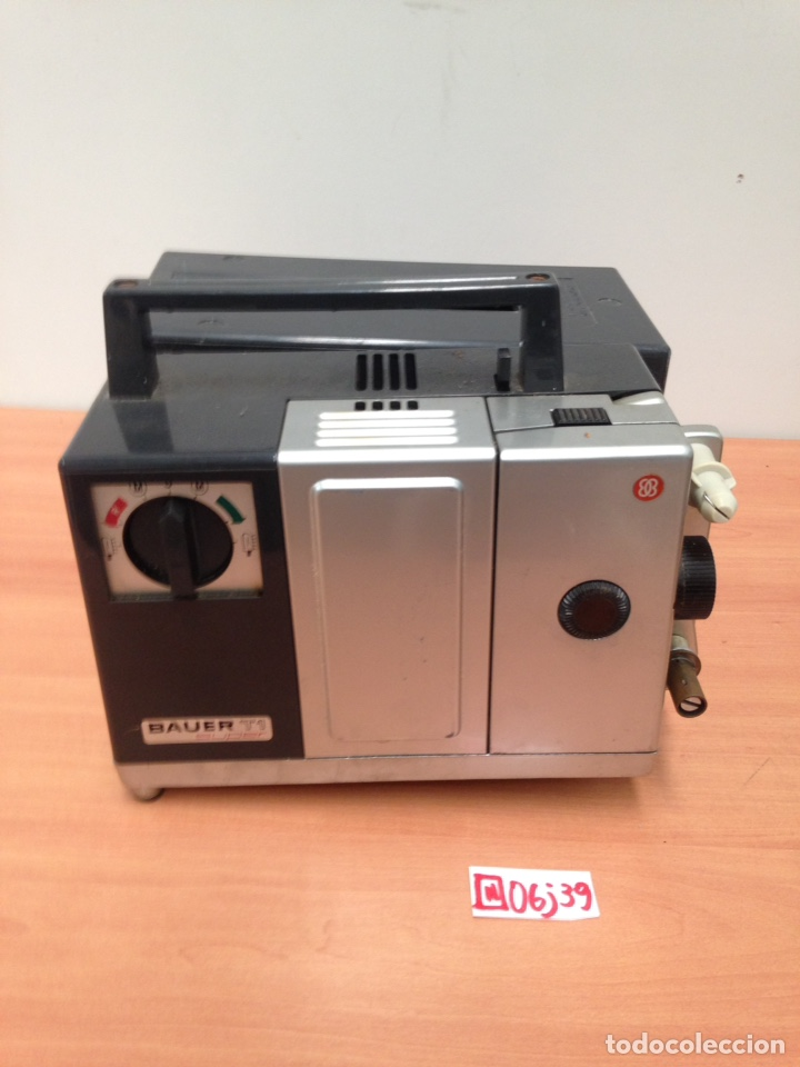 Cine: Proyector Super 8 Bauer T1S Royal muy compacto - Foto 2 - 195332207