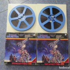 Cine: BATTLESTAR GALÁCTICA-SUPER 8 MM ESCENAS ESCOGIDAS , 2 X 120 MTS - SUPER 8 MM-COLOR. Lote 195371878