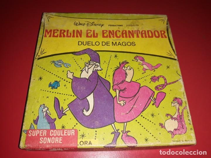 MERLIN EL ENCANTADOR ( DUELO DE MAGOS ) EN ESPAÑOL (Cine - Películas - Super 8 mm)