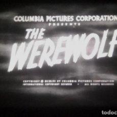 Cine: SUPER 8 ++ THE WEREWOLF ++ 60METROS SONORA V.O. (TC). Lote 195783677