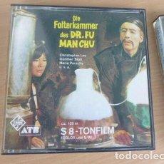 Cine: FILM SUPER 8 MM (EL CASTILLO DE FUMANCHU ) EN COLOR 2 X 120 MT SONIDO EN ESPAÑOL. Lote 176119698