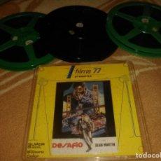 Cine: LARGOMETRAJE SUPER 8 MM (DESAFIO ) COLOR SONIDO EN ESPAÑOL 3 X 180 MT. CAJAS PLASTICO.. Lote 196135571