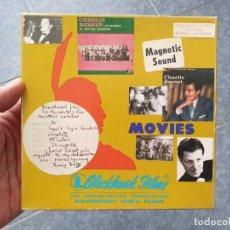 Cine: CHARLIE BARNET Y SU ORQUESTA(EL REY DEL SAXOFÓN) CORTO-MUSICAL-SUPER 8 MM -VINTAGE FILM. Lote 196478930