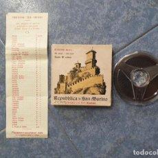 Cine: REPUBBLICA DI SAN MARINO-PELÍCULA- DOCUMENTAL-SUPER 8 MM-RETRO-VINTAGE FILM. Lote 197810421