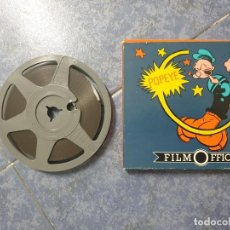 Cine: POPEYE–SUPERMAN CORTO-DIBUJOS ANIMADOS SUPER 8 MM RETRO- VINTAGE FILM . Lote 197811538