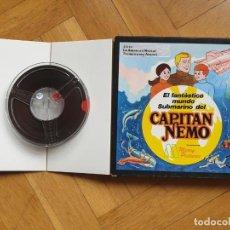 Cine: SERIE EL FANTASTICO MUNDO DEL CAPITAN NEMO PELICULA SUPER 8MM RETRO-VINTAGE FILM. Lote 197951926