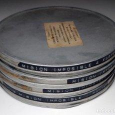 Cine: MISIÓN IMPOSIBLE / DIRECTOR, FEDERICO CURIEL. 1974. LARGOMETRAJE EN FORMATO SUPER-8 . Lote 200641090