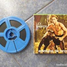 Cine: TARZÁN-(LEX BARKER) -LA FURIA DE LOS ELEFANTES-REDUCCIÓN-PELÍCULA SUPER 8 MM-RETRO VINTAGE FILM. Lote 202311747