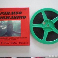 Cine: PARAISO SUBMARINO - JUANJO SERRANO - PELICULA SUPER 8MM ARMENDARIZ 1970S // DOCUMENTAL SEYCHELLES. Lote 203947227