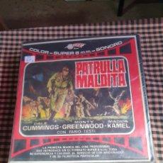 Cine: PATRULLA MALDITA 3 BOBINAS 120 METROS, COLOR SONORO, SUPER 8.. Lote 204638437