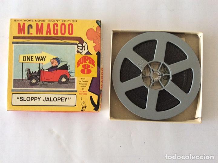 Cine: PELÍCULA 8mm SLOPPY JALOPEY MR. MAGOO - Foto 3 - 205385460