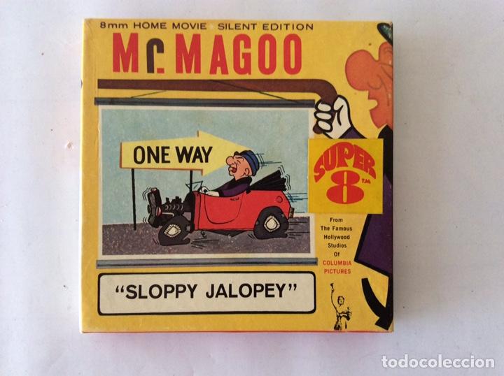 PELÍCULA 8MM SLOPPY JALOPEY MR. MAGOO (Cine - Películas - Super 8 mm)