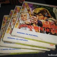 Cine: Y LE LLAMABAN ROBIN HOOD SUPER 8 ORIGINAL 4 ROLLOS ROBINHOOD ARIES FILMS. Lote 206294442