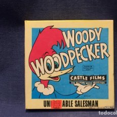Cine: PELICULA SUPER 8 MM WOODY WOODPECKER PRIVATE EYE POOCH CASTLE FILMS COMPLETE COLOR. Lote 206863927