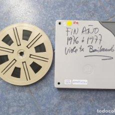 Cine: ANTIGUA BOBINA DE PELÍCULA-FILMACIONES AMATEUR FIN DE AÑO-(1976-1977)-SUPER 8 MM,RETRO VINTAGE. Lote 207060907