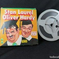 Cine: STAN LAUREL, OLIVER HARDY- NELL´ IMBROGLIO-CORTO-COMEDIA CLÁSICA-SUPER 8 MM-RETRO- VINTAGE FILM. Lote 207063380