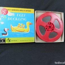 Cine: THE UGLY DUCKLING (EL PATITO FEO)-WALT DISNEY MOVIES-CORTO-DIBUJOS ANIMADOS-SUPER 8 MM-MUDO. Lote 207063872