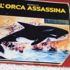 Cine: ORCA. LA BALLENA ASESINA - RICHARD HARRIS, CHARLOTTE RAMPLING - TERROR - LARGOMETRAJE SUPER 8 MM. Lote 207240355