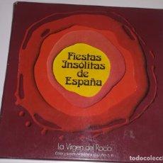 Cine: SUPER 8 ++ LA VIRGEN DEL ROCÍO +DC+ 90 METROS. SERIE FIESTAS INSÓLITAS DE ESPAÑA. Lote 207663043