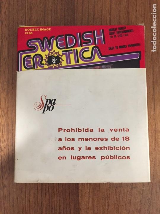 SWEDISH EROTICA - PELICULA - PORNO 8MM - AÑOS 1970 - SUECAS - SONORA A COLOR #158 (Cine - Películas - Super 8 mm)