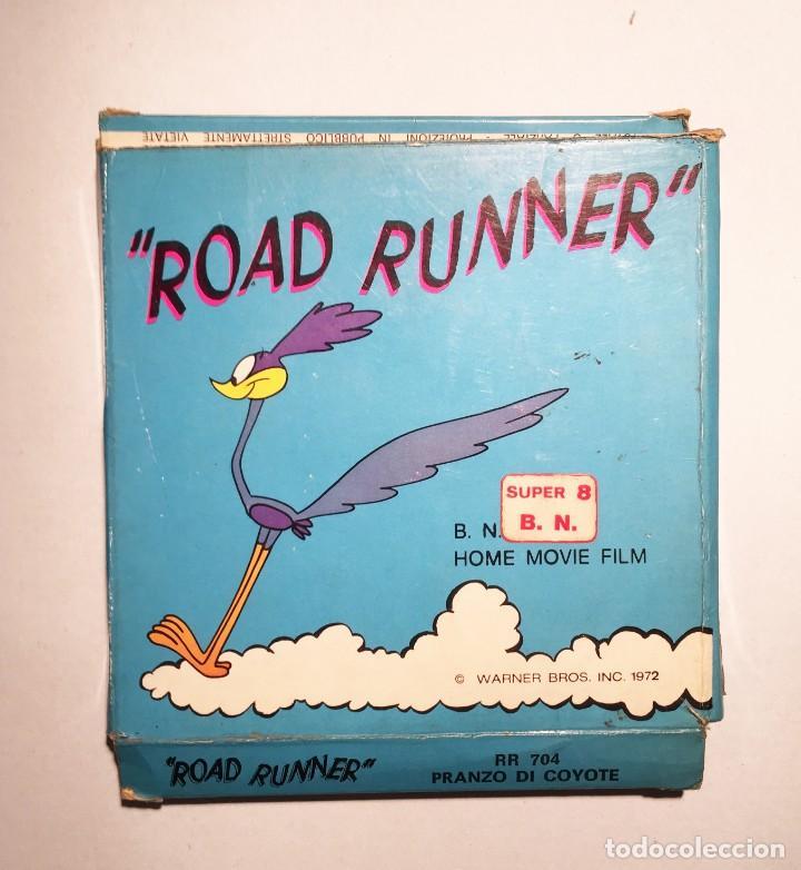 "PELÍCULA SUPER 8 ""ROAD RUNNER"" 1972 (Cine - Películas - Super 8 mm)"