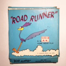 "Cine: PELÍCULA SUPER 8 ""ROAD RUNNER"" 1972. Lote 209275215"