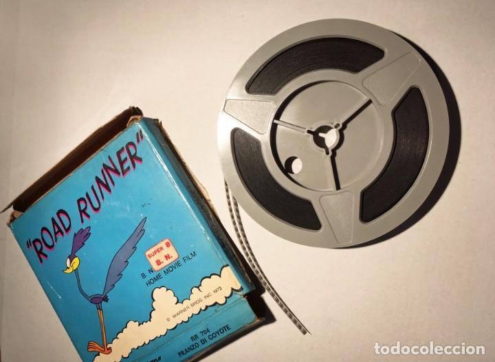 "Cine: Película super 8 ""Road Runner"" 1972 - Foto 4 - 209275215"
