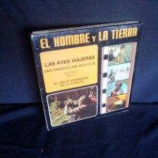 Cine: DR. FELIX RODRIGUEZ DE LA FUENTE - LAS AVES VIAJERAS (PELICULA SUPER 8 EN COLOR). Lote 209937936