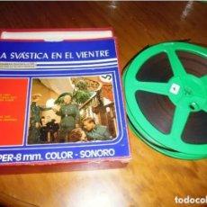 Cine: LA SVASTICA EN EL VIENTRE - LARGOMETRAJE SUPER 8 MM. Lote 210388273