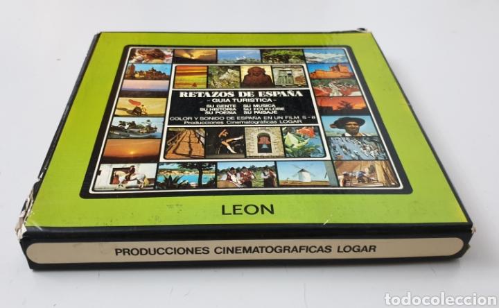 Cine: SUPER 8 RETAZOS DE ESPAÑA N°11 LEON GUIA TURISTICA - Producciones Cinematograficas Logar, 1980s - Foto 5 - 210617883