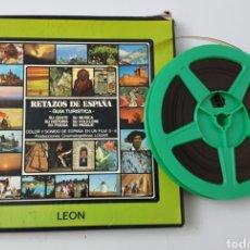 Cine: SUPER 8 RETAZOS DE ESPAÑA N°11 LEON GUIA TURISTICA - PRODUCCIONES CINEMATOGRAFICAS LOGAR, 1980S. Lote 210617883