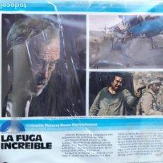 Cine: LA FUGA INCREIBLE (SELECCION DE ESCENAS) PRECINTADA. Lote 210741700