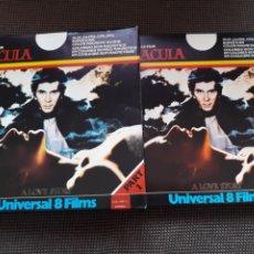 Cine: DRACULA (2 X 120 / UNIVERSAL 8 FILMS). Lote 210748670