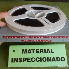 Cine: ENVIO:4€ FILM SUPER8 HOME MOVIE VISITA AL PARQUE DE ATRACCIONES DE MADRID 1979.BOBINA 120MTS COLOR. Lote 211274092