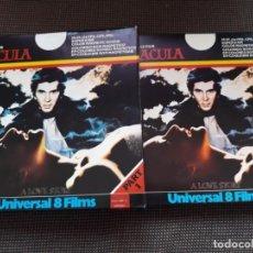 Cine: DRACULA (2 X 120 / UNIVERSAL 8 FILMS). Lote 211451201