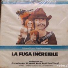 Cine: LA FUGA INCREIBLE (SELECCION DE ESCENAS) PRECINTADA. Lote 211451386