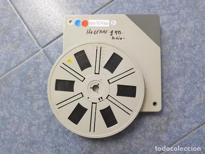 ANTIGUA BOBINA-DE PELÍCULA-FILMACIONES AMATEUR-FOGUERES-SANT JOAN (1973) SUPER 8 MM, RETRO FILM (Cine - Películas - Super 8 mm)
