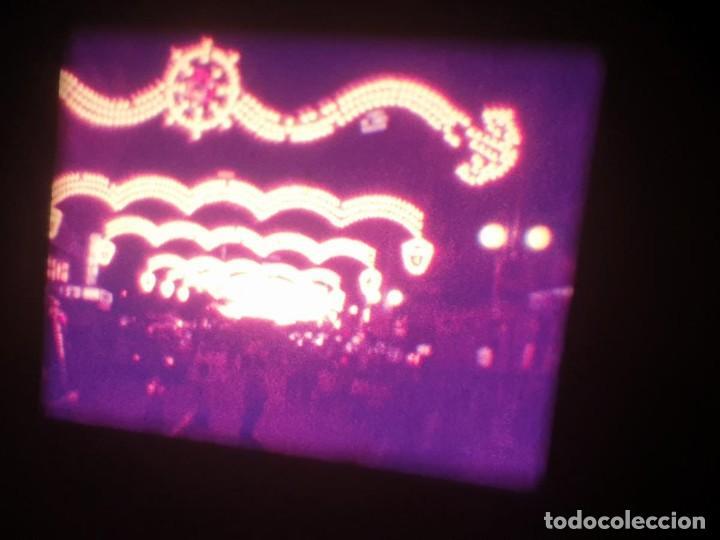 Cine: ANTIGUA BOBINA-DE PELÍCULA-FILMACIONES AMATEUR-FOGUERES-SANT JOAN (1973) SUPER 8 MM, RETRO FILM - Foto 2 - 212835668