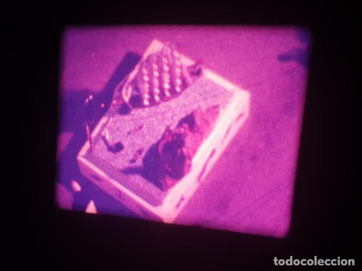Cine: ANTIGUA BOBINA-DE PELÍCULA-FILMACIONES AMATEUR-FOGUERES-SANT JOAN (1973) SUPER 8 MM, RETRO FILM - Foto 4 - 212835668