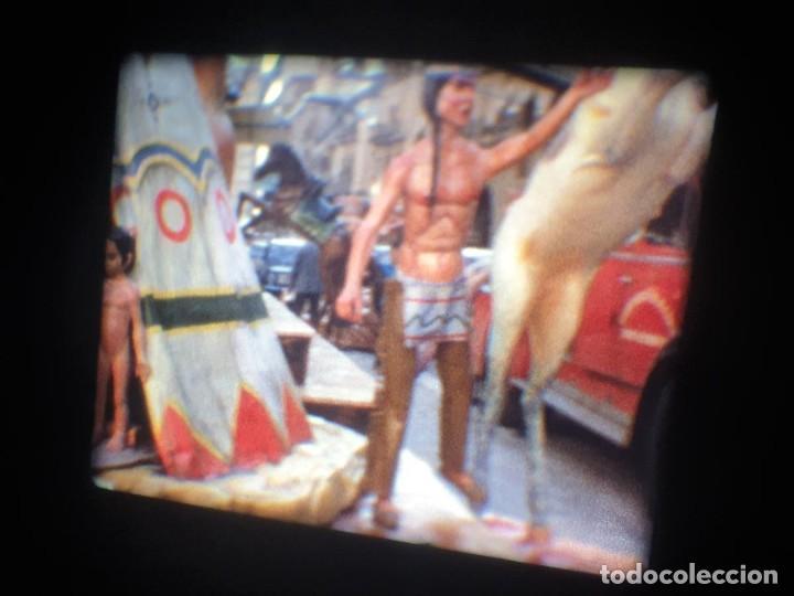 Cine: ANTIGUA BOBINA-DE PELÍCULA-FILMACIONES AMATEUR-FOGUERES-SANT JOAN (1973) SUPER 8 MM, RETRO FILM - Foto 5 - 212835668